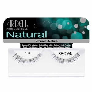 a4ff8c9af00 Ardell 108 Brown Fashion Lashes - Buy Online