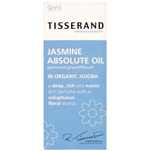 Tisserand Jasmine Absolute in Organic Jojoba 9ml
