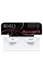 Ardell Accent Eyelashes - 308 Black