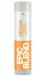 Epic Blend Vegan Lip Balm Peach 4.2g