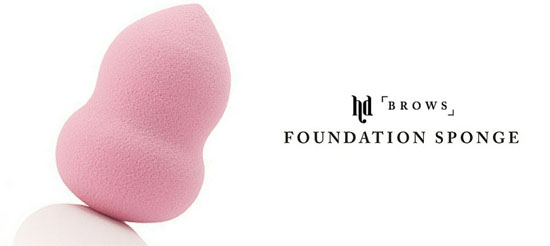 Create A Flawless Base With The HD Brows Foundation Sponge