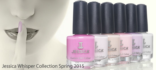 Jessica Whisper Spring Nail Collection